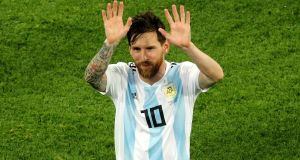Lionel Messi: Wonderful goal against Nigeria showed Argentina's star is still capable of delivering the goods on the biggest stage. Photograph: Owen Humphreys/PA