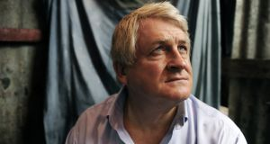 Denis O'Brien at the Champ Mars refugee camp in Port au Prince, Haiti in 2010. Photograph: Antonio Bolfo/Getty Images
