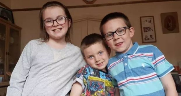 Three missing children may be travelling to Ireland