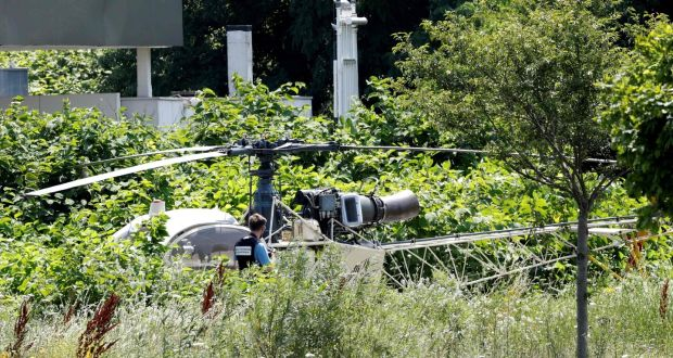 Image result for Gangster Escape From Helicopter, French Jail,
