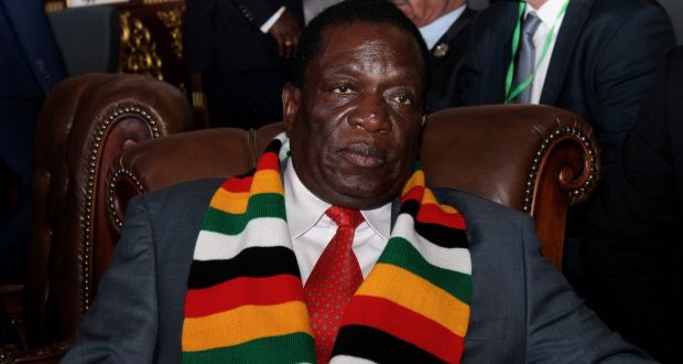 The attempted assassination of Zimbabwe's president, Emmerson Mnangagwa, last week has underscored the fragility. Photograph: Ahmed Ould Mohamed Ould Elhadj/AFP/Getty Images