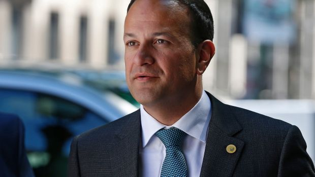 Taoiseach Leo Varadkar in Brussels last week. He will be attending a series of events in New York on Monday marking the formal launch of Ireland's bid for a non-permanent seat on the UN Security Council. Photograph: Julien Warnand/EPA