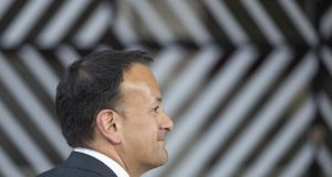 "Taoiseach Leo Varadkar: ""I really would appeal to people to heed the advice and not to use hosepipes"". Photograph:  Jasper Juinen/Bloomberg"