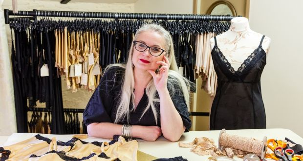 """f515fc44fb Hot Knickers Lingerie founder Ali Wheeler  """"My designs are based on  supporting what you"""