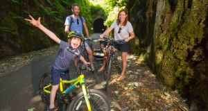On your bike: 'We're already thinking of our next adventure together as a family'