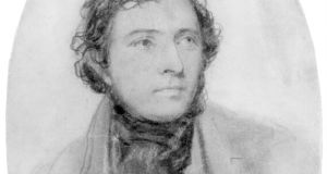 Samuel Lover: Self-portrait in pencil. Copyright: National Portrait Gallery, London