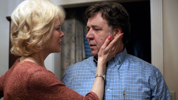 Nicole Kidman stars as Nancy and Russell Crowe stars as Marshall in Joel Edgerton's 'Boy Erased', a Focus Features release.