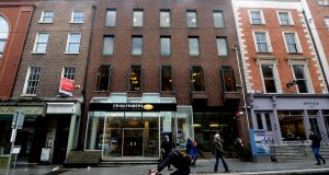 Five diffferent parties pitched for the Trailfinders building on Dublin's Dawson Street