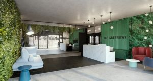 The Greenway, a co-working space owned by Iconic Offices on St Stephen's Green, is available for meetings.