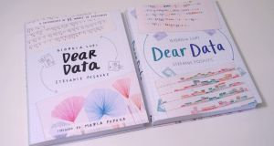 """Dear Data"" by Giorgia Lupi and Stefanie Posavec:  ""reclaims that poetic granularity of the individual from the homogenising aggregate-grip of Big Data""."