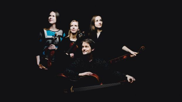 The Dudok Quartet Amsterdam was revelatory in Mozart's Quartet in G, K387.