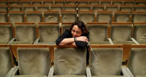 Nathalie Stutzmann, principal guest conductor of the RTÉ National Symphony Orchestra, was not mentioned on   RTÉ  during a piece   about the National Concert Hall's  Female Conductor Programme. Photograph:  Maxwell