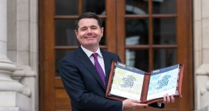 Minister for Finance Paschal Donohoe: big issue is not whether taxpayers get an extra €7 or €10 a week, but about hospital waiting lists and housing. Photograph: Cyril Byrne