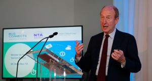 "Michael McDowell on Shane Ross (above): ""It arises from his dissatisfaction with the way a particular case that he was involved in as a plaintiff was decided. I won't go further into it. I know the details and I know what we are dealing with here.""  Photograph: Nick Bradshaw/The Irish Times"