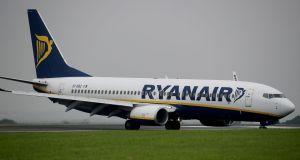 Irish-based Ryanair pilots plan a one-day strike on Thursday, July 12th, in a dispute over seniority. Photograph: Peter Byrne/PA Wire