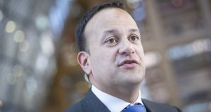 Leo Varadkar told a private lunch gathering in New York on Tuesday that he sympathised with Donald Trump's view of the media, saying the media was not interested in the truth but in the story. Photographer: Jasper Juinen/Bloomberg