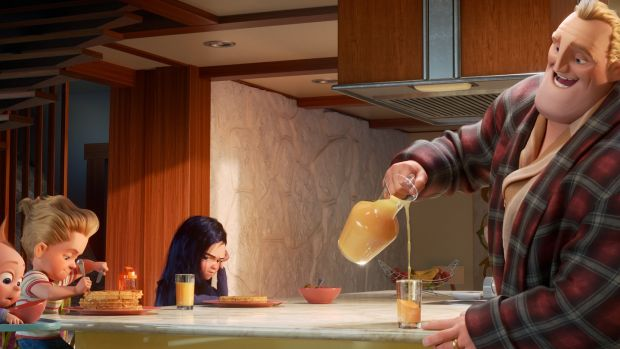 """I didn't think about it as a superhero film,"" says Director Brad Bird of Incredibles 2"