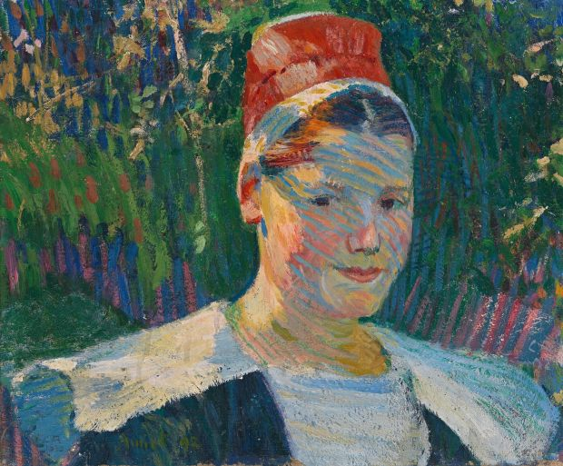 Fellow artist: Breton Woman, from 1892, by Cuno Amiet. Photograph © D Thalmann/Schweizerisches Institut für Kunstwissenschaft/SIK-ISEA