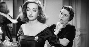 "Bette Davis and Thelma Ritter in ""All About Eve"". Margo Channing, played by Davis,  is among the most divine monsters in the history of cinema (1950). Photograph: 20th Century Fox"