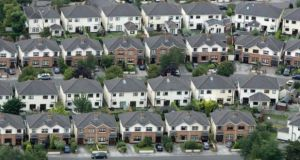 Housing sector faces serious challenges in terms of minimum standards, says department. Photograph: Frank Miller