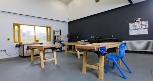 The woodwork room at Oberstown Children Detention Campus. Photograph: Iain White/Fennell Photography