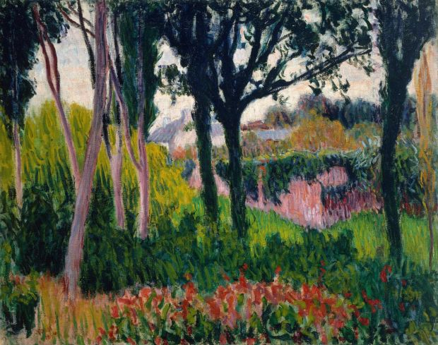 Roderic O'Conor: The Farm at Lezaven, Finistère, from 1894. Photograph © National Gallery of Ireland
