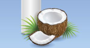 Coconut milk is a good store-cupboard ingredient given how long it can be kept. Photograph: iStock