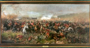 The Battle of Aughrim by John Mulvany. Photograph : Matt Kavanagh
