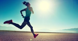 If runners experience severe fatigue they must slow down to increase their chances of avoiding heatstroke. Photograph: iStock