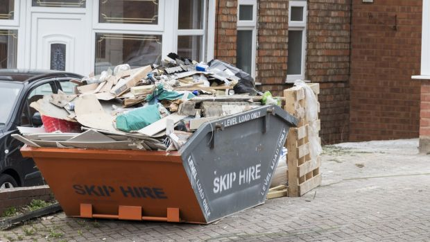 The number of skips popping up on city streets is growing by the week. Resist the urge to keep up with the Joneses
