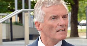 Former senator and minister of state Ivor Callely who was given a suspended sentence for  a campaign of harassment and criminal damage against a GP.  Photograph: Eric Luke/The Irish Times