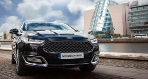 The Ford Mondeo HEV: Ford plans to invest $11 billion in electrified vehicles in the coming years