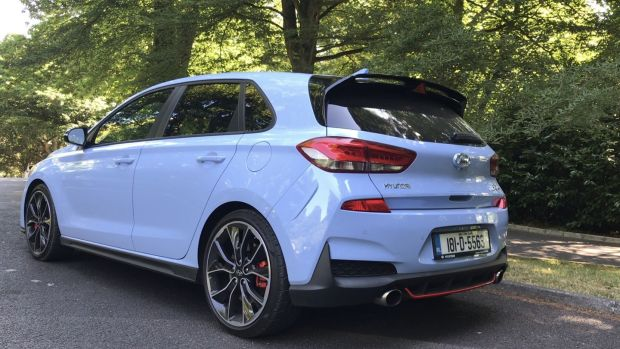 The Hyundai i30N doesn't have the manic, high-velocity performance of the Honda Civic Type-R but it's certainly a match for the likes of the Renault Megane RS, and the VW Golf GTI in performance terms