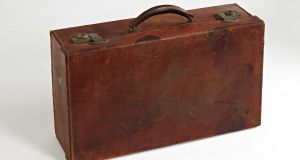 A suitcase from the 1950s, displayed at the National Museum of Ireland - Country Life, was one of the items selected by Fintan O'Toole for his series on the 'History of Ireland in 100 Objects'.