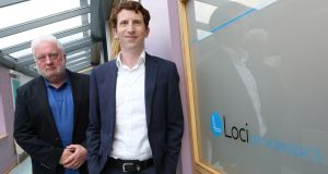 Gerry Clarke and Dr Brendan Boland, co-founders of Loci Orthopaedics.