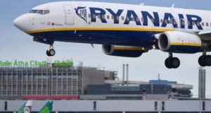 "Ryanair  claims the strike has the support of ""just 94 of Ryanair's 350 Irish pilots"""