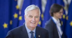 Michel Barnier, chief negotiator for the European Union. Photograph: Jasper Juinen/Bloomberg