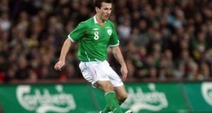 Liam Miller died in February aged 36. Photograph: Donall Farmer/Inpho
