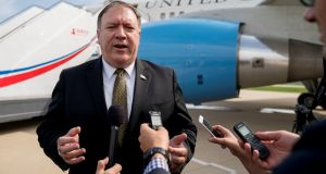 US secretary of state Mike Pompeo has  brushed off North Korean accusations of 'gangster-like' diplomacy during negotiations in Pyongyang. Photograph: Reuters