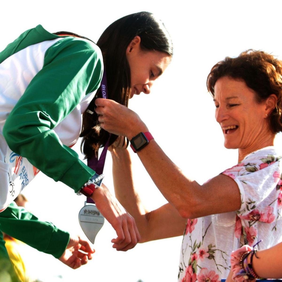 Sonia Osullivan Runs Race Of Emotions As Sophie Wins European Silver