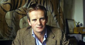 Bruce Chatwin: set out looking for the Songlines, the invisible pathways from Aboriginal creation myth.   Photograph: Ulf Andersen/Getty Images