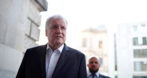 German interior minister and leader of the CSU, Horst Seehofer. Photograph: Axel Schmidt/Reuters