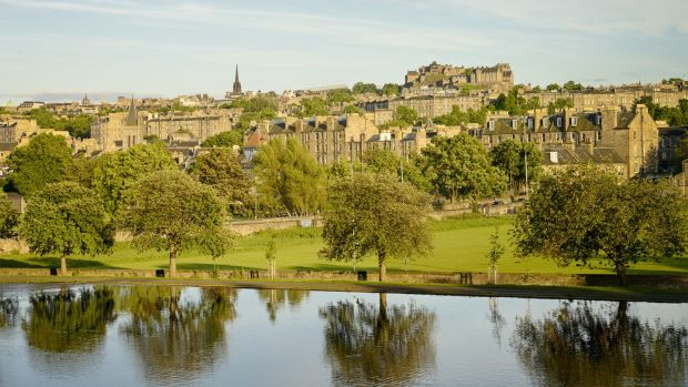 Inverleith Park, with its allotments, marshland and sundial garden, is a good spot for a jog or a walk