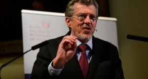 Prof Ian Frazer said cervical cancer can be eradicated by public health programmes similar to the one against polio.  Photograph: Cyril Byrne / The Irish Times