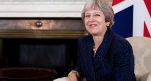 British prime minister Theresa May: has she the political strength to follow through after the resignations? Few are  willing to say so with much confidence.  Photograph: Rick Findler