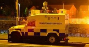 More than 25 petrol bombs were thrown during the sporadic disturbances in Derry's Bogside area