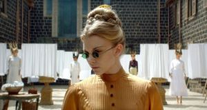 Natalie Dormer's Mrs Appleyard has a sexy, contemporary air with John Lennon shades and a screw-you attitude