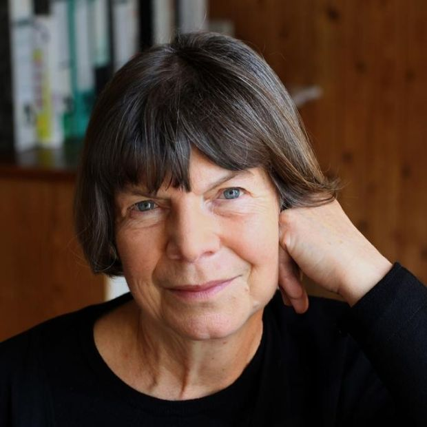 "Margaret Drabble: ""I still have a great interest in pottering around the country, visiting the little galleries in small towns. You see what's happening."" Photograph: Ruth Corney"