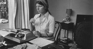Margaret Drabble in 1974: the young novelist had been feeling neglected, on the sidelines of her social group, and thinking, That'll fix them! as the pages mounted up.  Photograph: Evening Standard/Getty