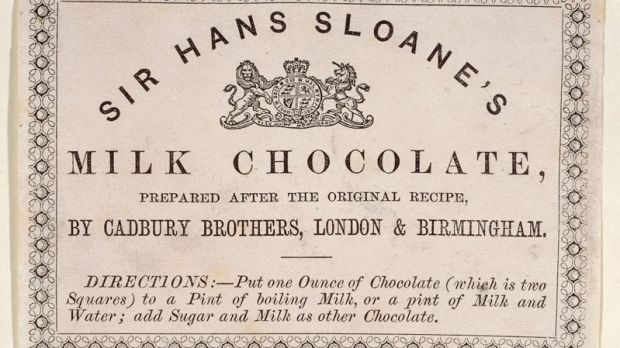 Sir Hans Sloane is best remembered, somewhat erroneously, as the man who invented milk chocolate